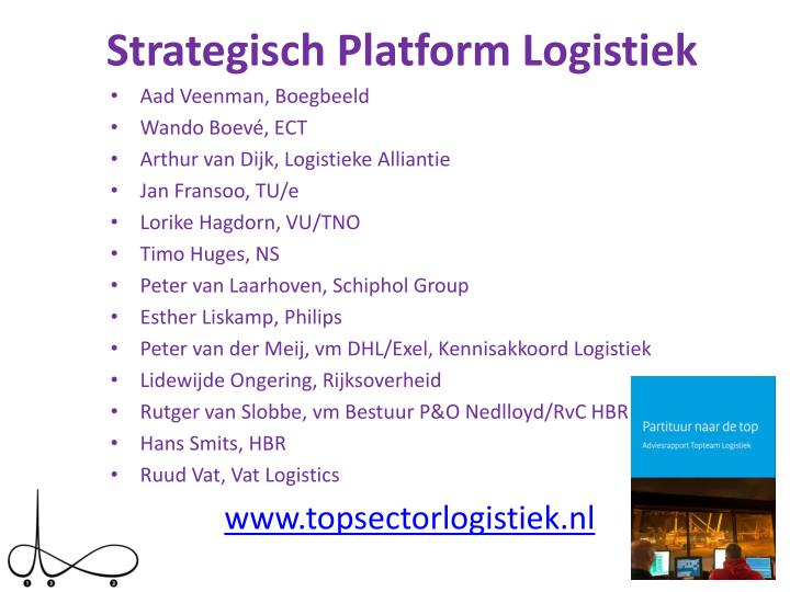 Strategisch platform logistiek