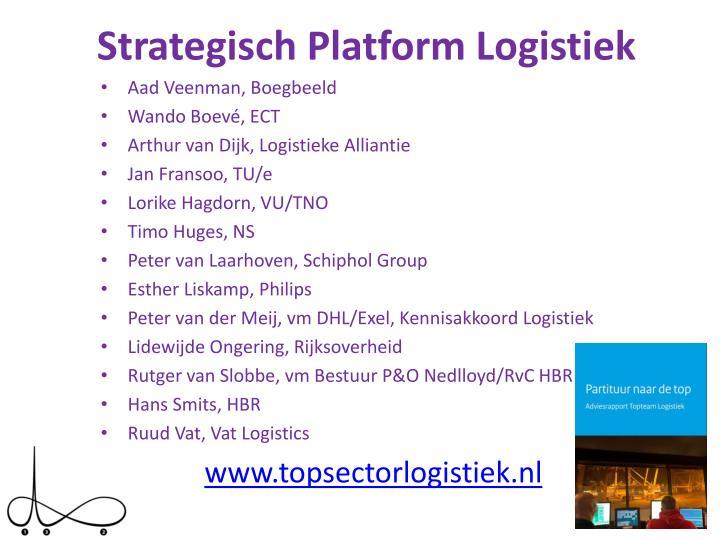 Strategisch Platform Logistiek