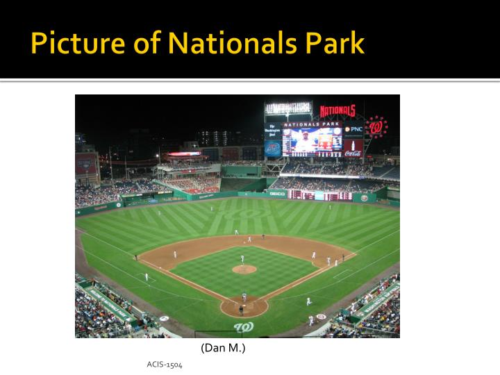 Picture of Nationals Park