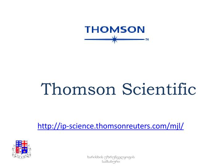 Thomson Scientific