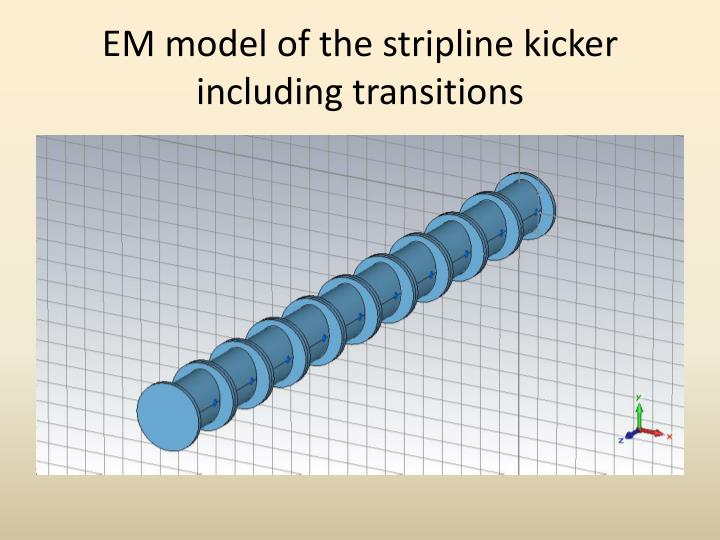 EM model of the