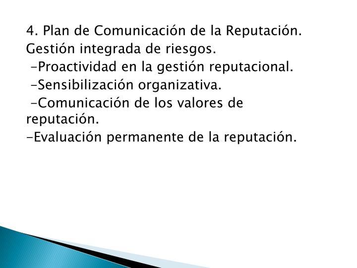 4. Plan de