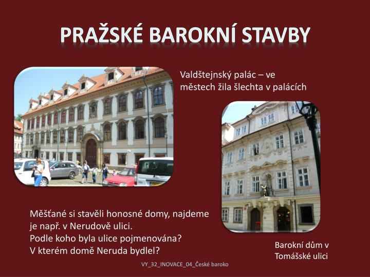 Pražské barokní stavby