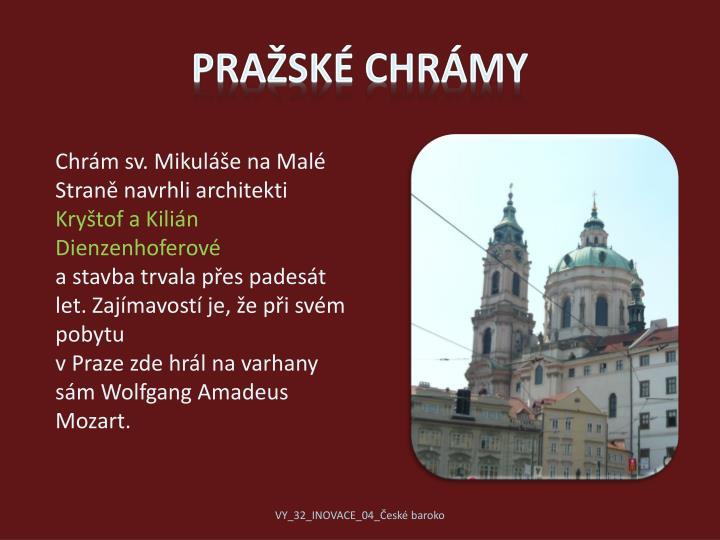 Pražské chrámy