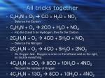 all tricks together