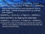 chunking polyatomic ions