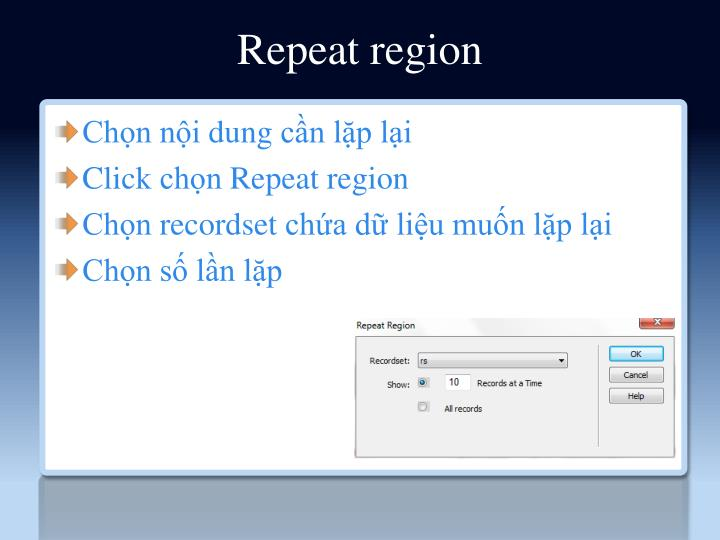 Repeat region