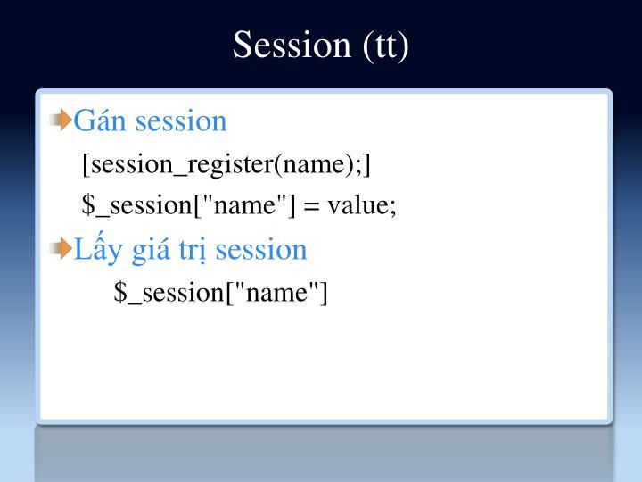Session (