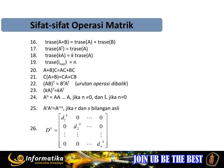 Sifat-sifat