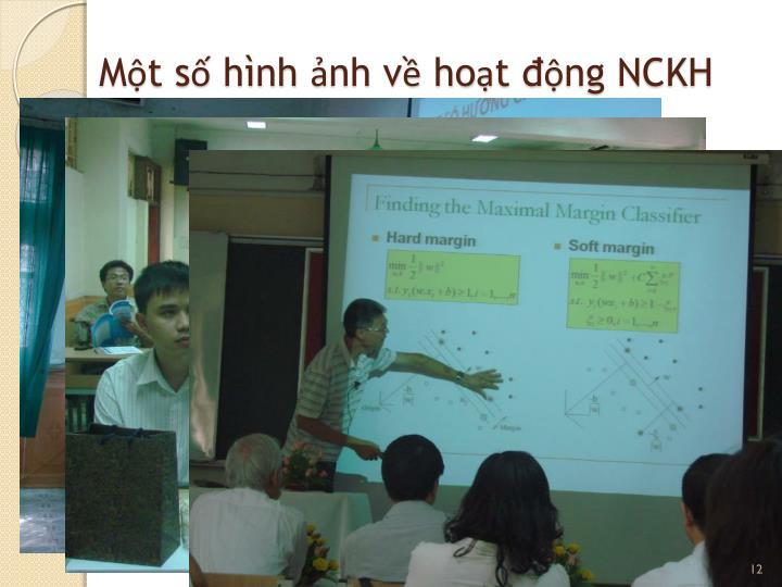 Một số hình ảnh về hoạt động NCKH