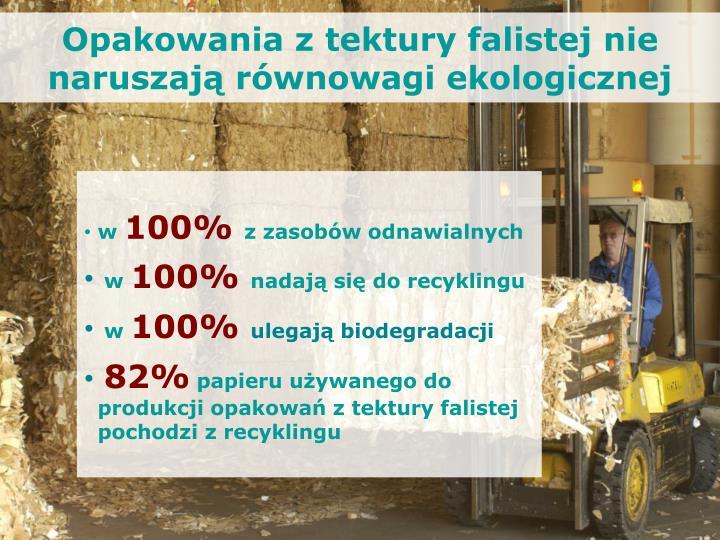 Opakowania z tektury falistej nie naruszają równowagi ekologicznej