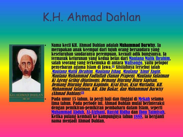K.H. Ahmad