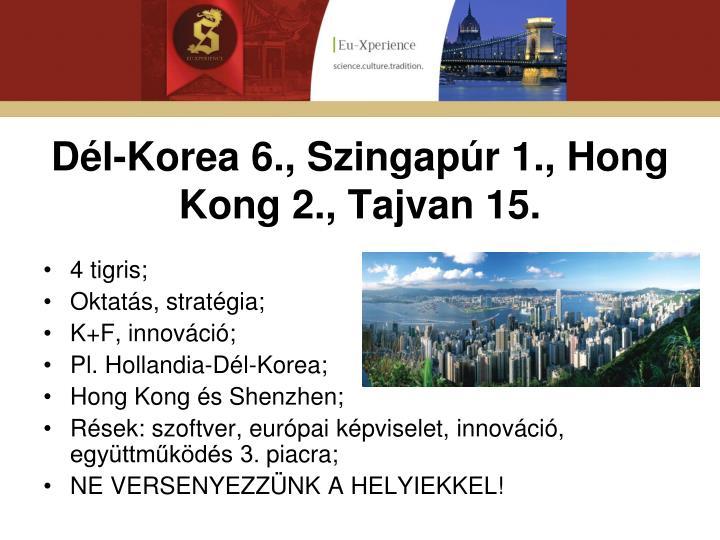 Dél-Korea 6.,
