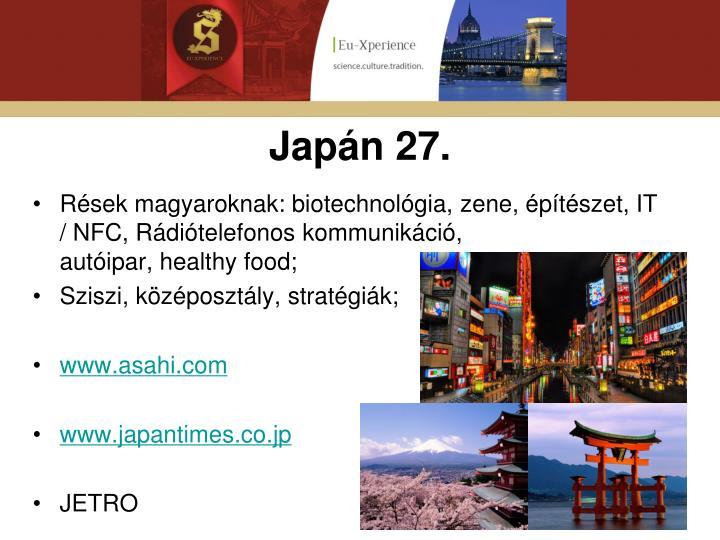 Japán 27.