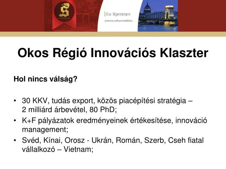 Okos Régió Innovációs Klaszter