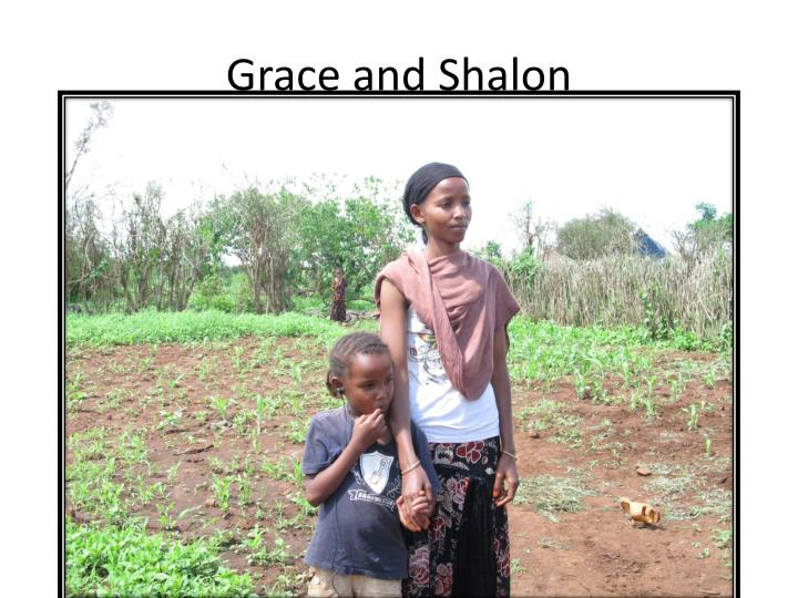 Grace and Shalon