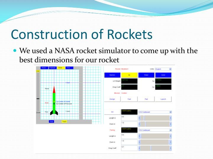 Construction of Rockets