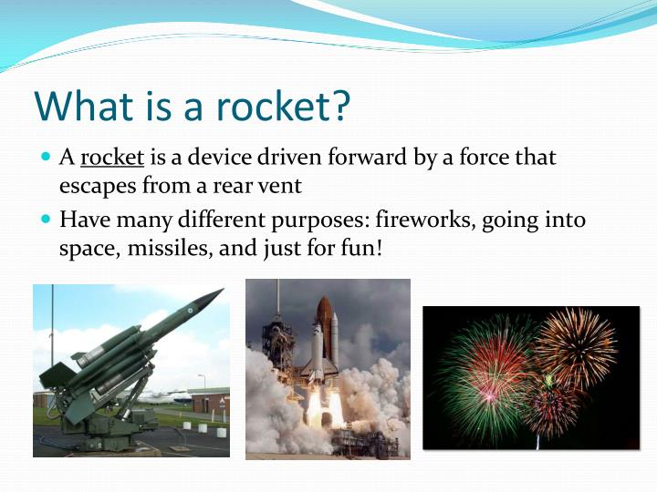 What is a rocket