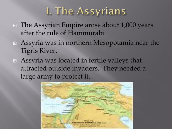 I the assyrians