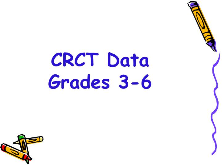 CRCT Data