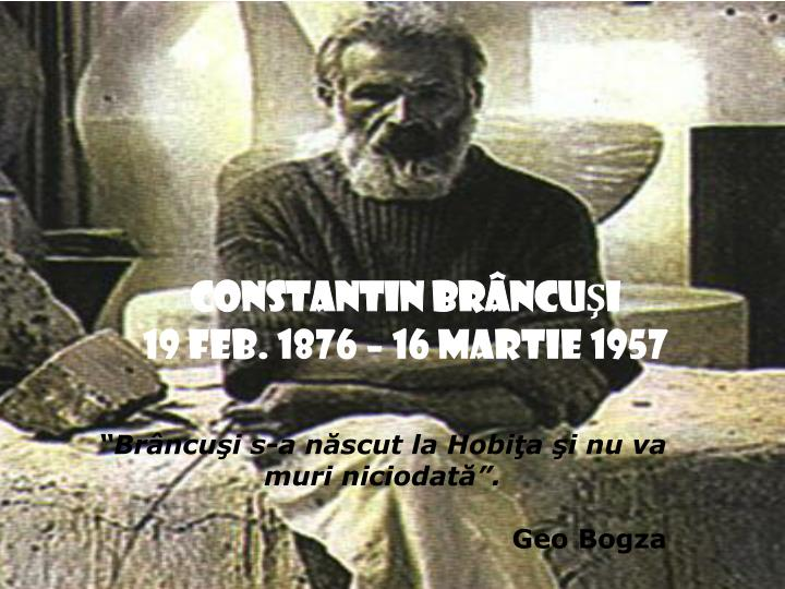 CONSTANTIN BR