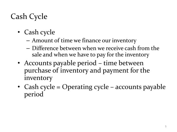 Cash Cycle
