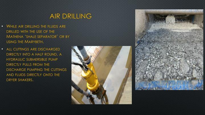 air drilling