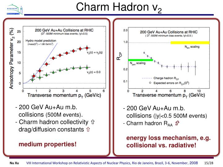 Charm Hadron v