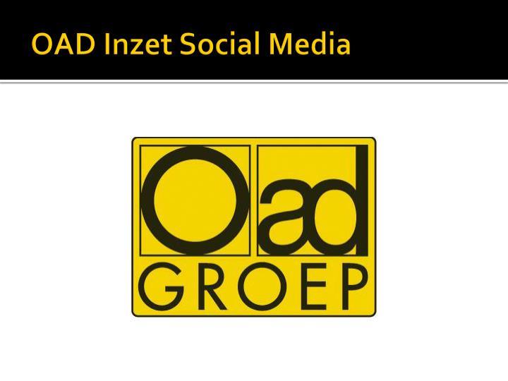 OAD Inzet Social Media