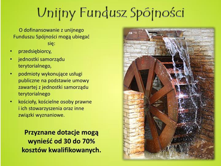 Unijny Fundusz Spójno