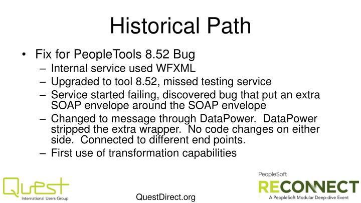 Historical Path