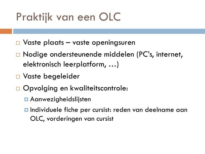 Praktijk van een OLC