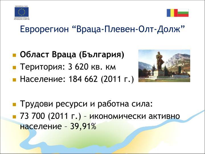"Еврорегион ""Враца-Плевен-Олт-Долж"""