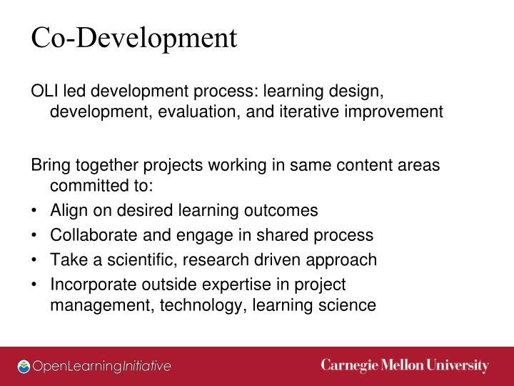 Co-Development