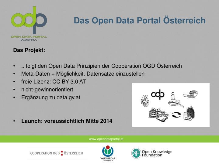 Das Open Data Portal Österreich