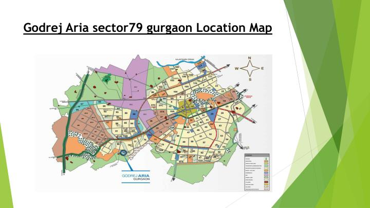 Godrej aria sector79 gurgaon location map