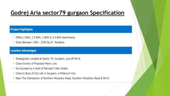 Godrej Aria sector79