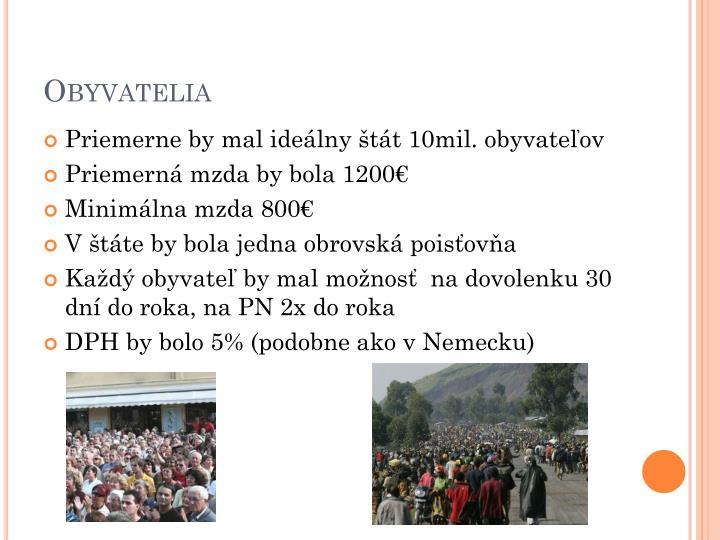 Obyvatelia