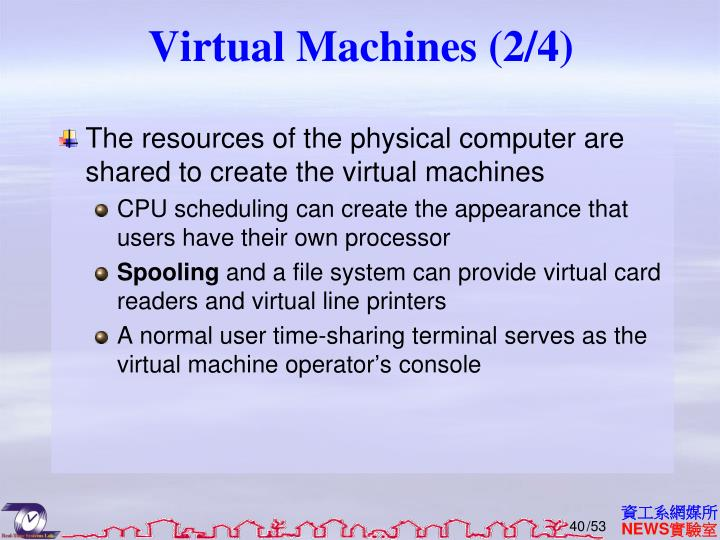 Virtual Machines (2/4)