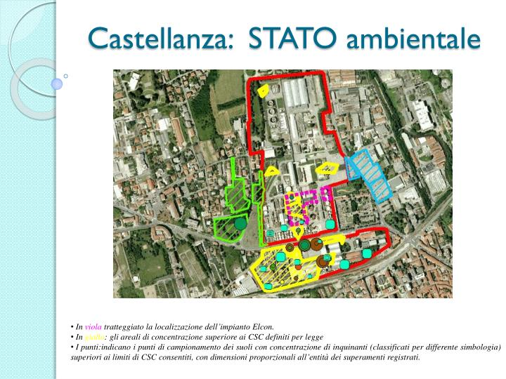 Castellanza:  STATO ambientale