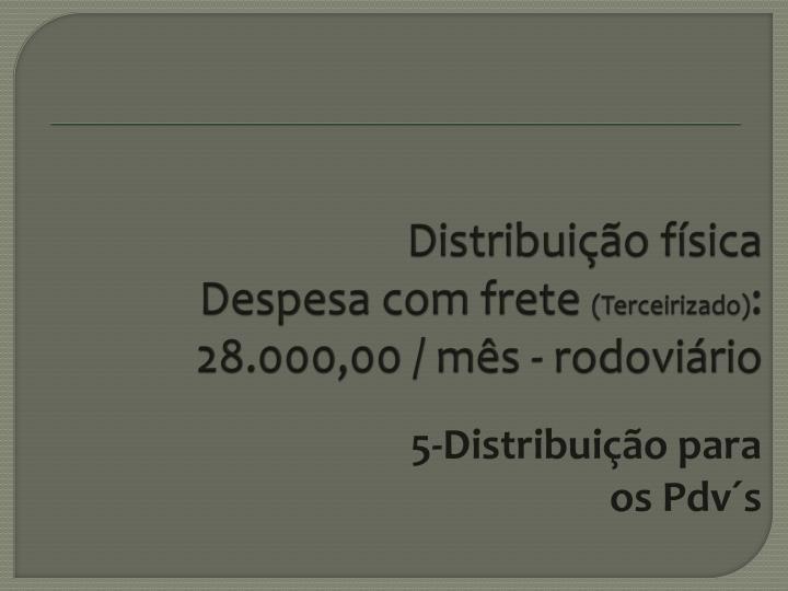 Distribuição física