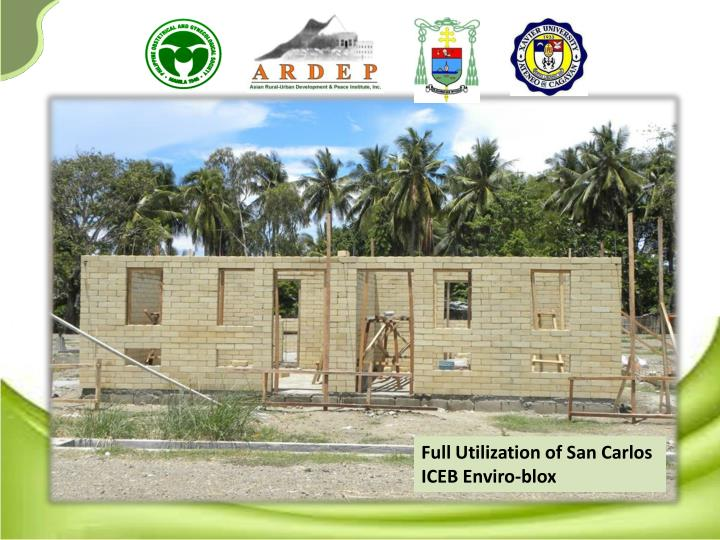 Full Utilization of San Carlos ICEB