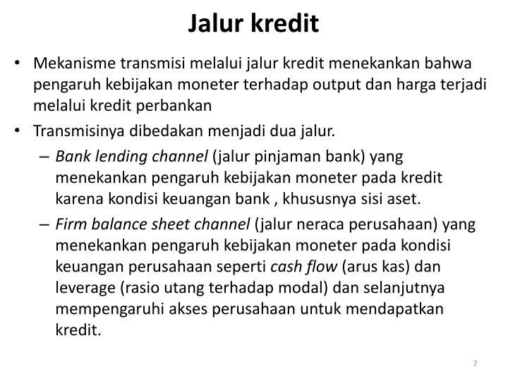 Jalur kredit