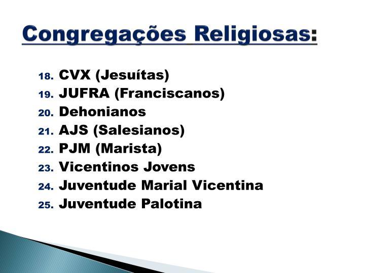 Congregações
