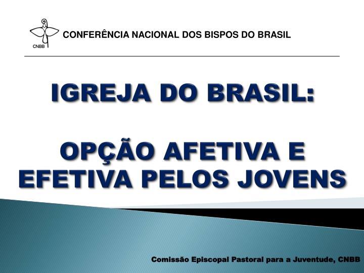 IGREJA DO BRASIL: