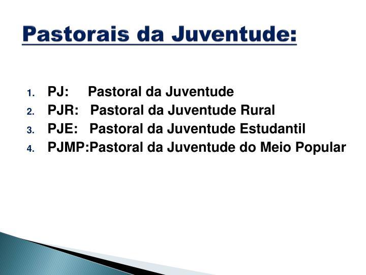 Pastorais da Juventude: