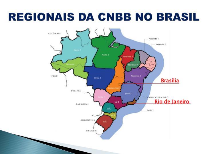 REGIONAIS DA CNBB NO BRASIL