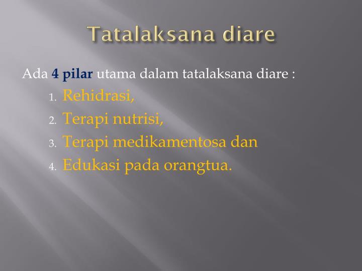 Tatalaksana