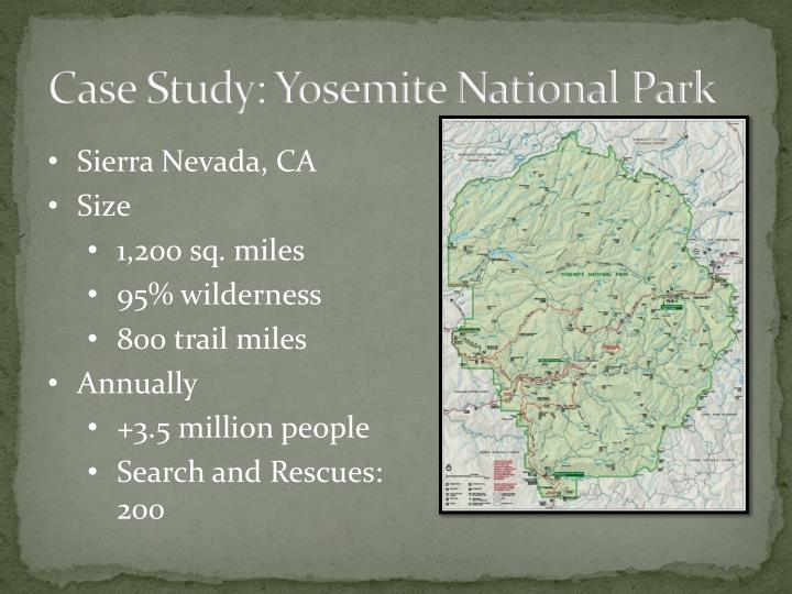 Case Study: Yosemite National Park