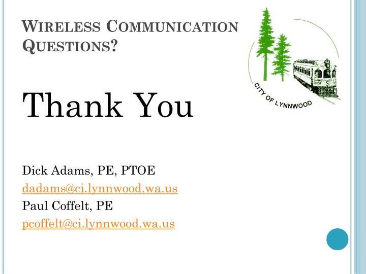 Wireless Communication